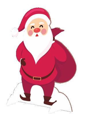 Sagoma Babbo Natale